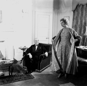 Sir Bernard Docker and Lady Norah '55