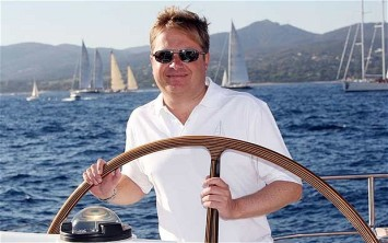 Sir Charles Dunstone an avid Yachtsman